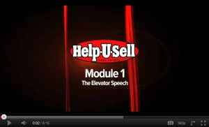 Help-U-Sell Real Estate Elevator Speech