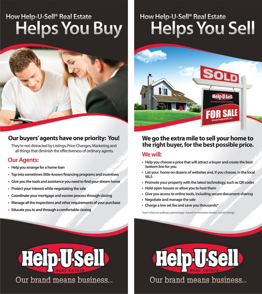 Banners for Help-U-Sell brokers