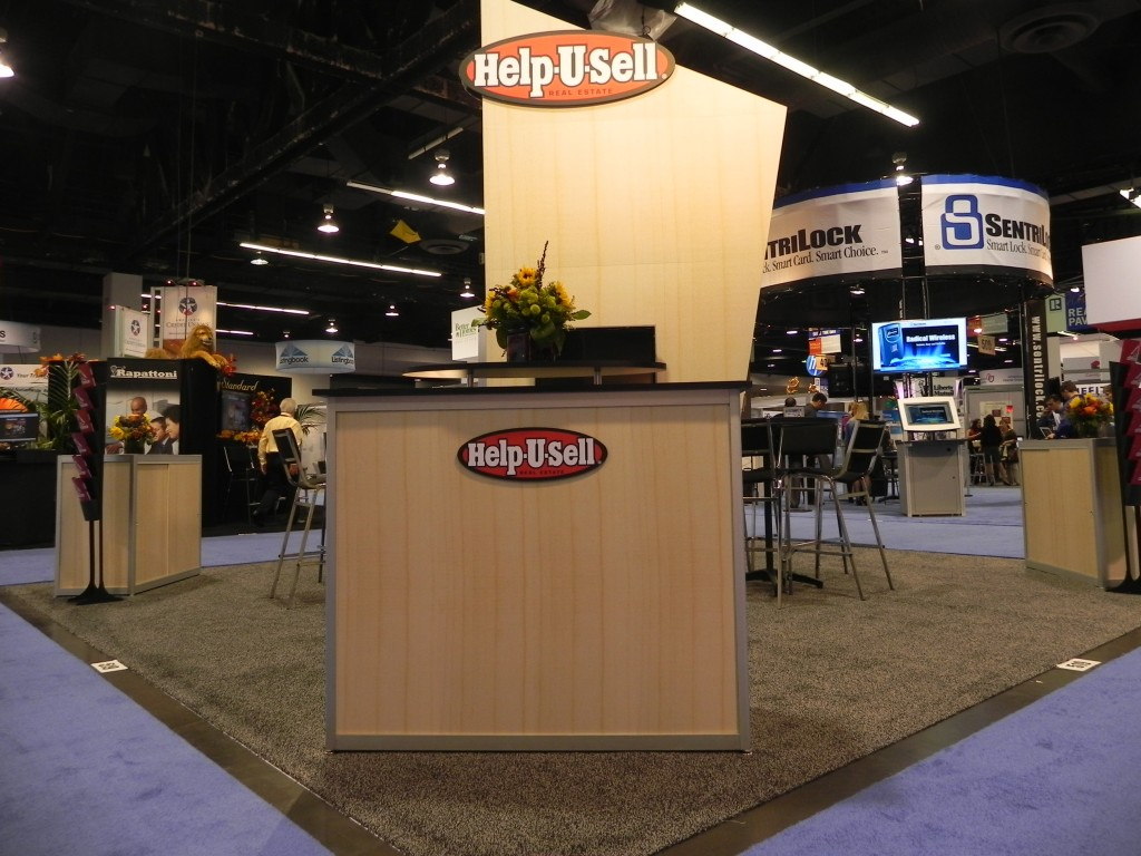 Help-U-Sell Real Estate's booth at Realtors Conference & Expo