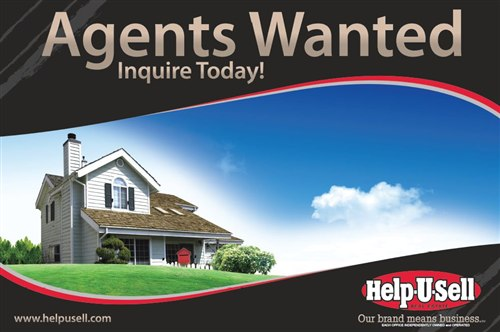 Help-U-Sell Real Estate Agent Recruitment Sign
