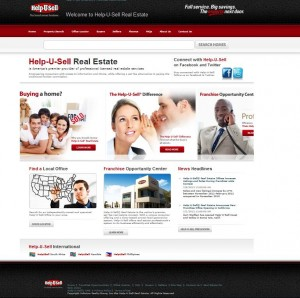 New Help-U-Sell Real Estate Corporate Website