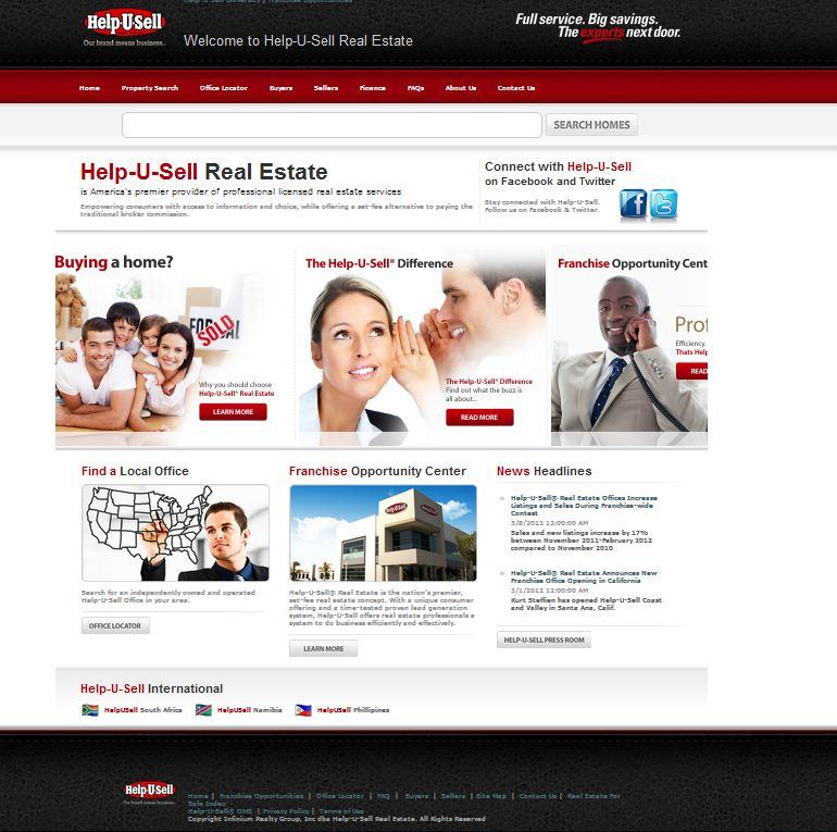 New Help-U-Sell Real Estate Corporate Website