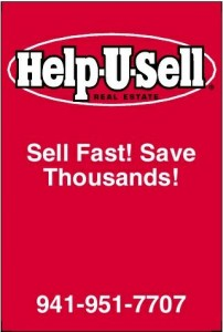 Help-U-Sell Real Estate Blitz Sign