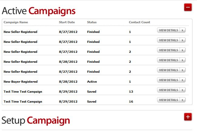 Active Drip Email Campaigns