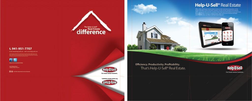 Help-U-Sell Real Estate folder