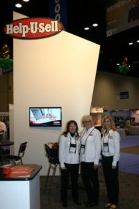 Chris, Dee and Kendra working the Help-U-Sell booth at NAR