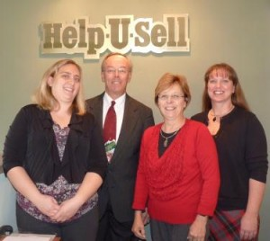 The entire staff of one of our most successful offices, Help-U-Sell Direct Savings Real Estate