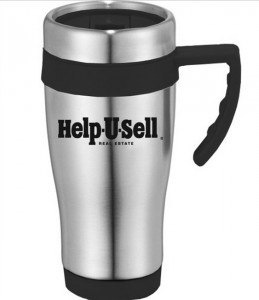 Help-U-Sell Real Estate travel mug