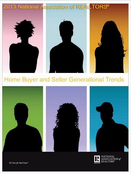 The National Association of Realtors Home Buyer and Seller Generational Trends report