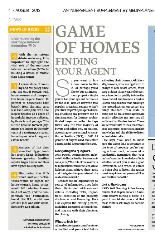 Investing in Real Estate publication