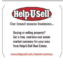 Help-U-Sell Real Estate's ad in Investing publication