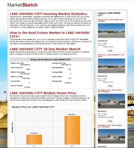 Help-U-Sell Real Estate's new Market Sketch statistics tool