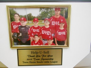 Terre Haute South Little League team