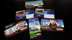 Help-U-Sell Real Estate's new marketing materials from Excel Printing and Mailing