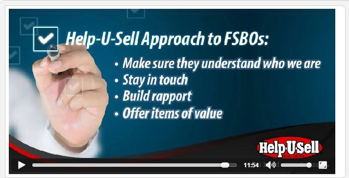 Help-U-Sell Real Estate's approach to FSBOs