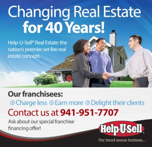 Help-U-Sell Real Estate's Franchise Business Review ad