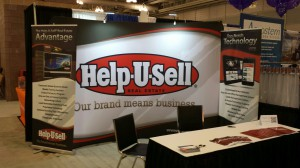 Help-U-Sell Real Estate's booth at Triple Play