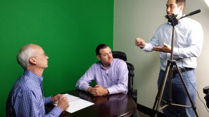 Behind the scenes of the Help-U-Sell Buyer Consultant Training video shoot