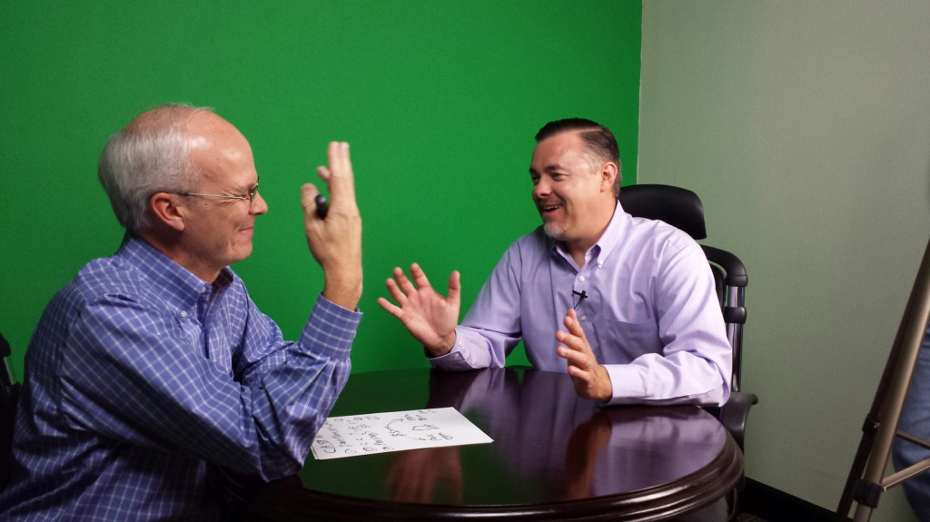 Behind the scenes of the Help-U-Sell Real Estate Buyer Consultant Training videos