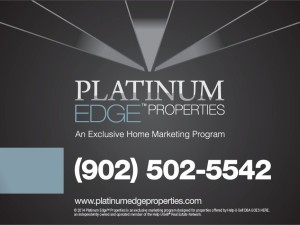 Platinum Edge Properties Sign