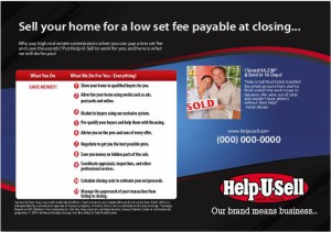 Real Estate Broker postcard