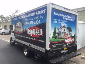 Help-U-Sell Conejo Valley Truck Wrap