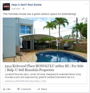Sample Facebook Property Listing Post