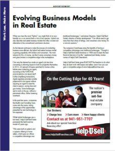 California Real Estate Advertorial